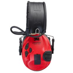 Gehoorbescherming Peltor Sporttac zwart rood
