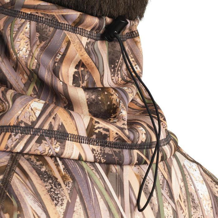 Nekwarmer warm 500 camouflage moeras