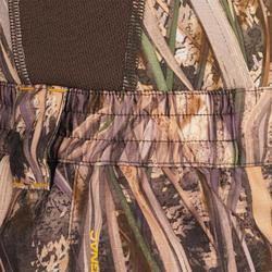 Waterdichte jagersbroek 100 moerascamouflage