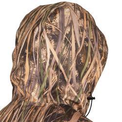 Warme winddichte jagersjas 500 camouflage moeras
