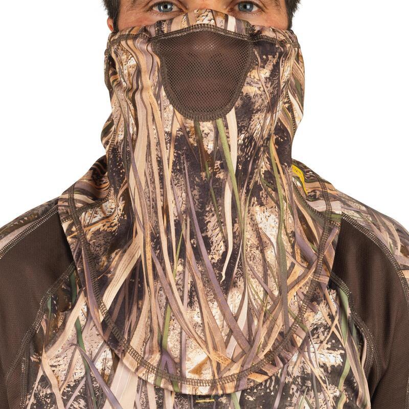 Cache-cou chasse léger 500 camouflage marais