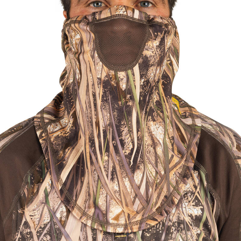 MASKOVACÍ OBLEČENÍ LOV VODNÍHO PTACTVA Myslivost a lovectví - LOVECKÝ NÁKRČNÍK 500  SOLOGNAC - Myslivecké oblečení