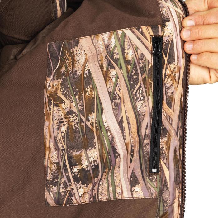 Jagd-Daunenjacke 100 Camouflage Schilf