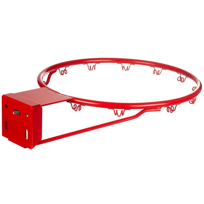 Cercle de basketball R900 flexible Rouge officiel pour panier de basket