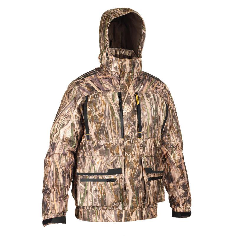 ABBIGLIAMENTO MIMETICO SELVAGGINA D'ACQU Abbigliamento uomo - Giacca 900 3 in 1 canneto SOLOGNAC - Abbigliamento uomo