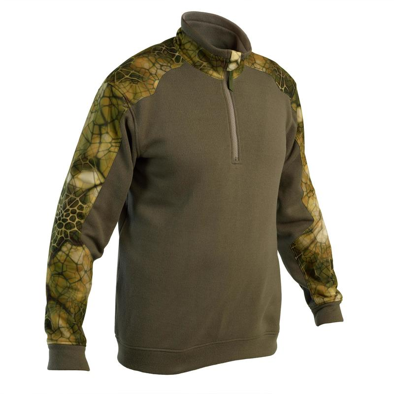Pull Chasse Renfort 500 Camo Furtiv