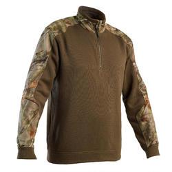 Maglione caccia RENFORT 500 mimetico foresta