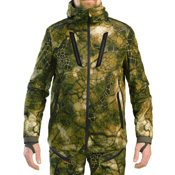Veste chasse Silencieuse Imperméable Chaude camouflage FURTIV 900