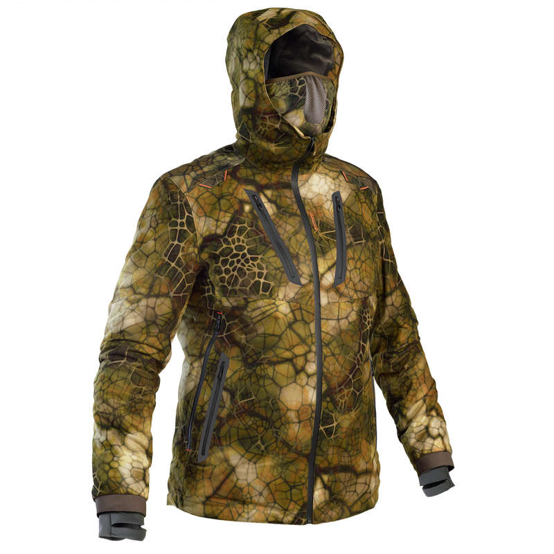 STALK CLOTHING DRY/WET WEATHER Shooting and Hunting - Warm Waterp. Jacket 900 FURTIV SOLOGNAC - Hunting and Shooting Clothing