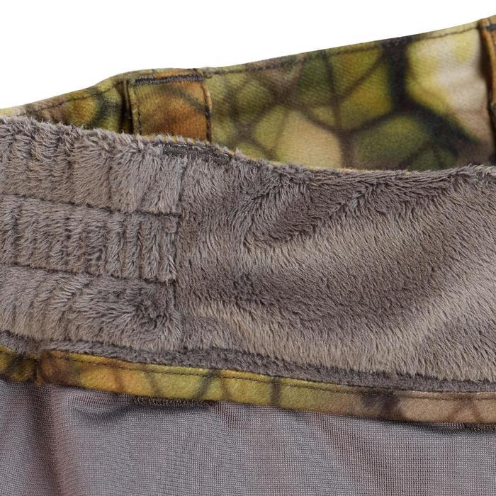 Jagd-Regenhose FURTIV 900 geräuscharm warm camouflage