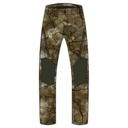 Pantalon Chasse Softshell Silencieux 500 camouflage FURTIV