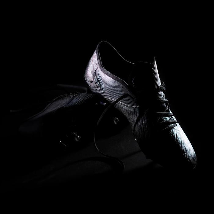 Fußballschuhe Nocken CLR FG Erwachsene schwarz