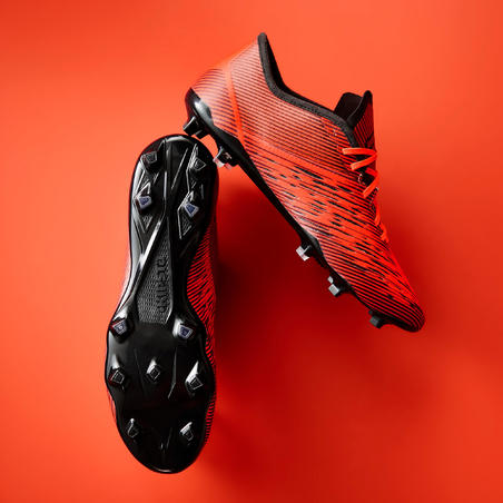 CLR 900 Adult Dry Pitch Soccer Cleats - Orange