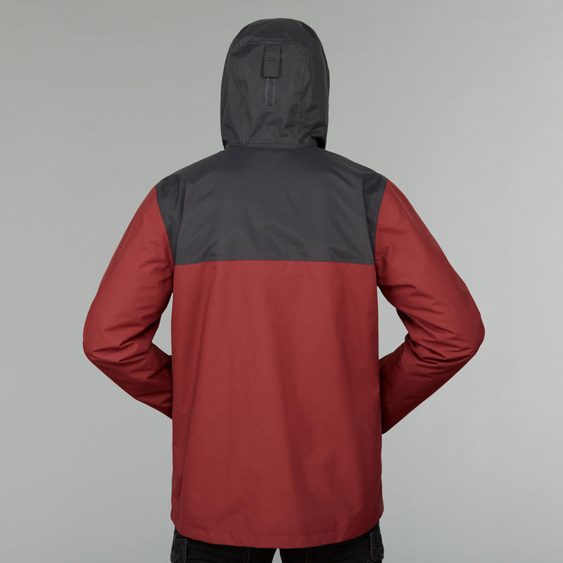 Men's TRAVEL 100 3in1 Travel Jacket -Red