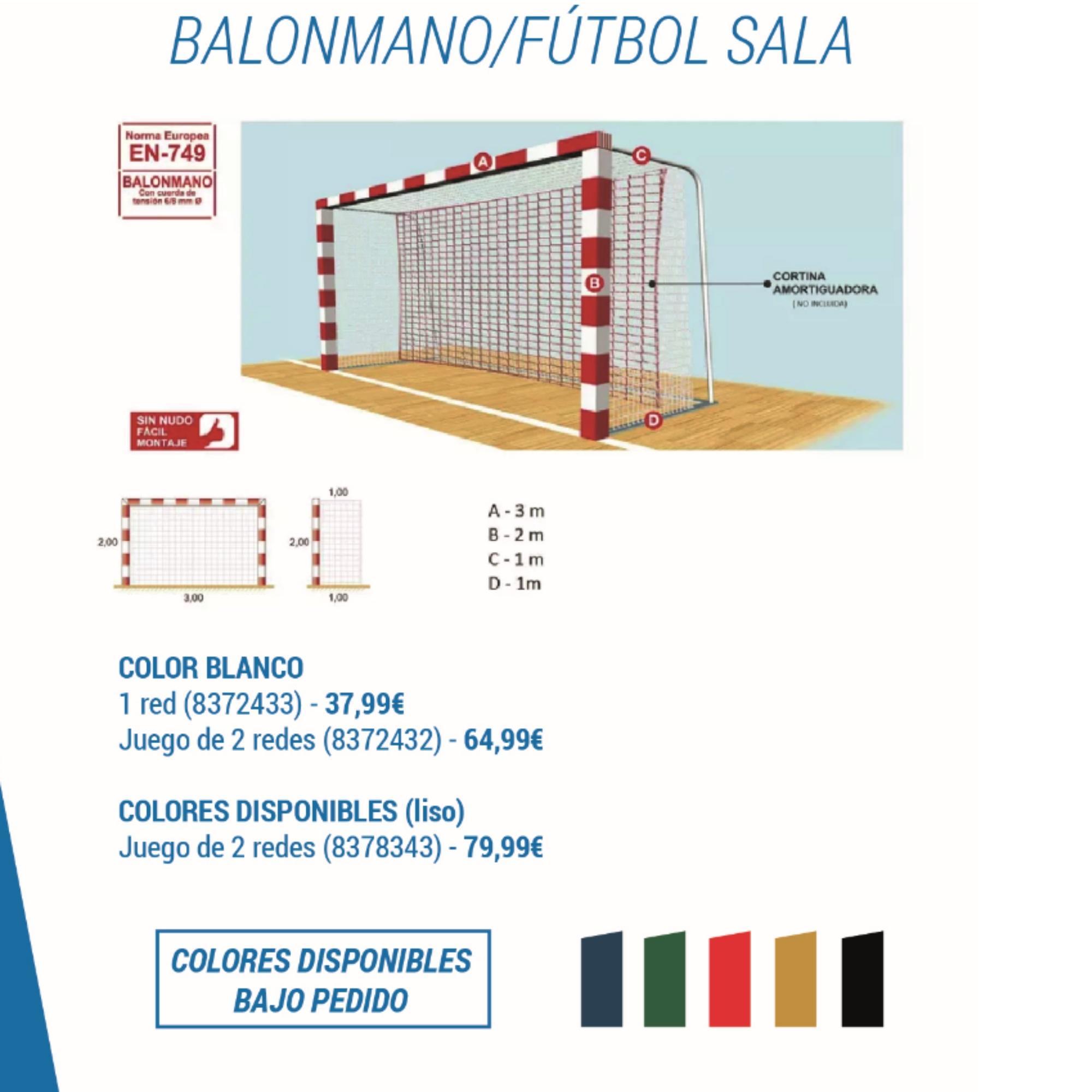 Comprar Porterías y Redes de Fútbol  d58a73a7b8c87