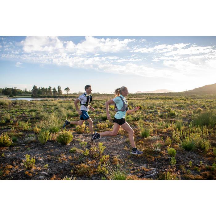 Chaussures de trail running pour femme TR bleu clair et rose