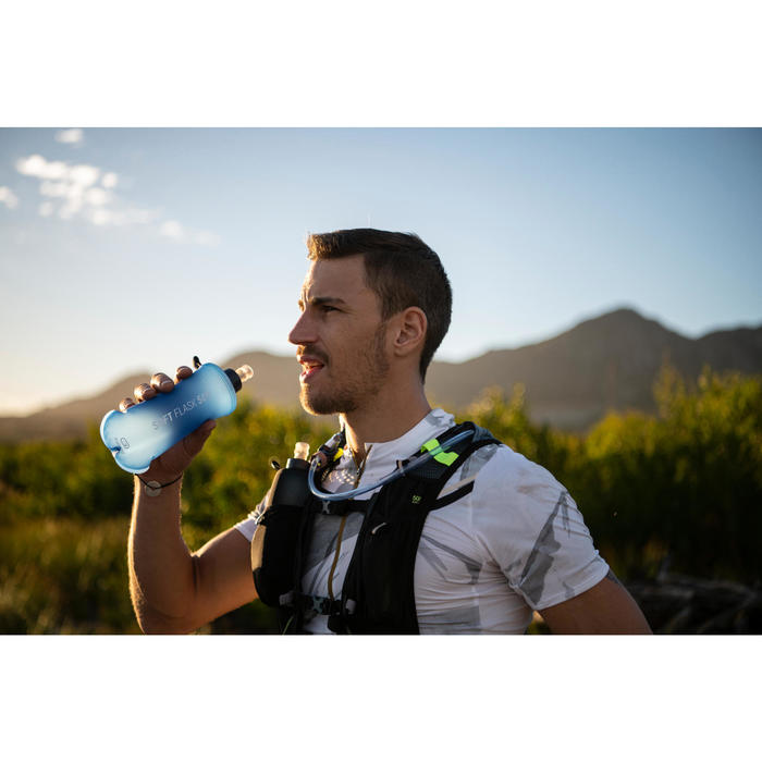 Soft Flask Running Kalenji Trail 500 ml Azul