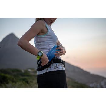 Drinkgordel voor trail drinkbushouder 500 ml zwart/brons
