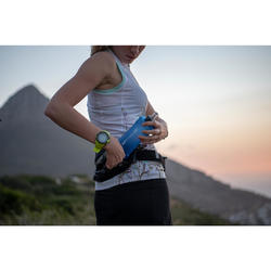 Trinkgürtel Trail Running für 1 Flasche 500ml schwarz/bronzefarben