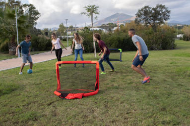 hoe kies ik een voetbaldoel opblaasbaar voetbaldoeltje minidoel