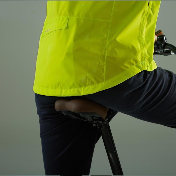 fahrrad regenjacke city 100 herren neongelb b 39 twin. Black Bedroom Furniture Sets. Home Design Ideas