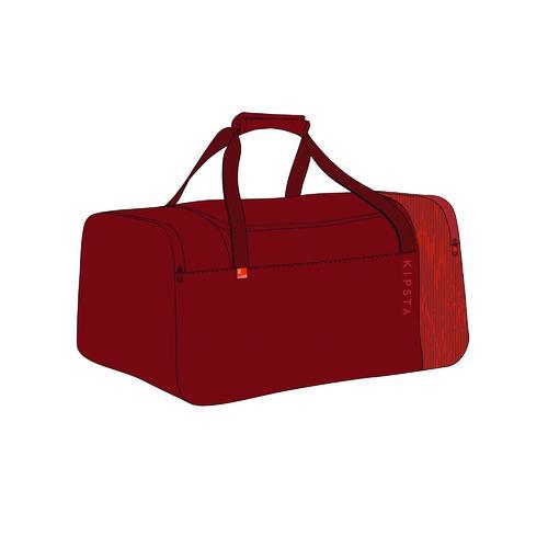 sac de sport 55 litres essentiel rouge bordeaux