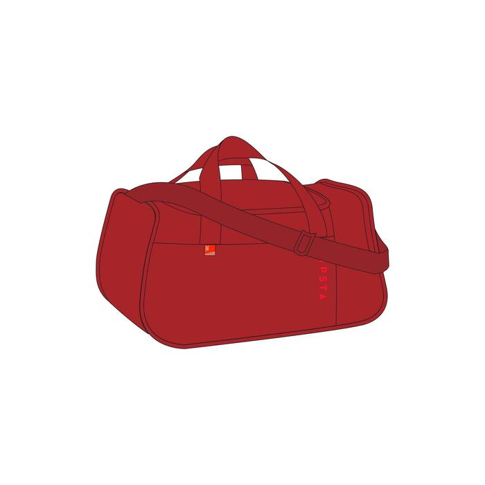 20L Team Sports Bag Kipocket - Burgundy