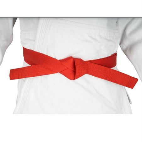 חגורת Piqué לאמנויות לחימה, באורך 2.8 מ' - אדום
