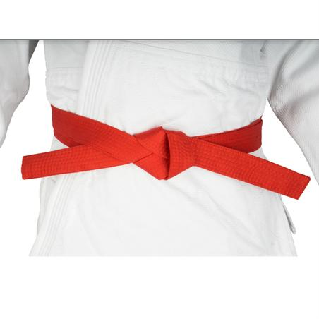 2.8 m Piqué Martial Arts Belt - Red