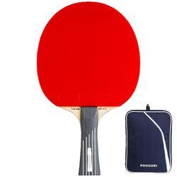 俱樂部用乒乓球拍+球拍套TTR 990 OFF++ 6*