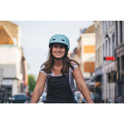 Fahrradhelm City 500 mint
