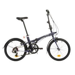 Vouwfiets TILT 500 blauw - folding bike