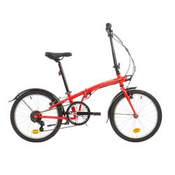VOUWFIETS TILT 120 ROOD - folding bike