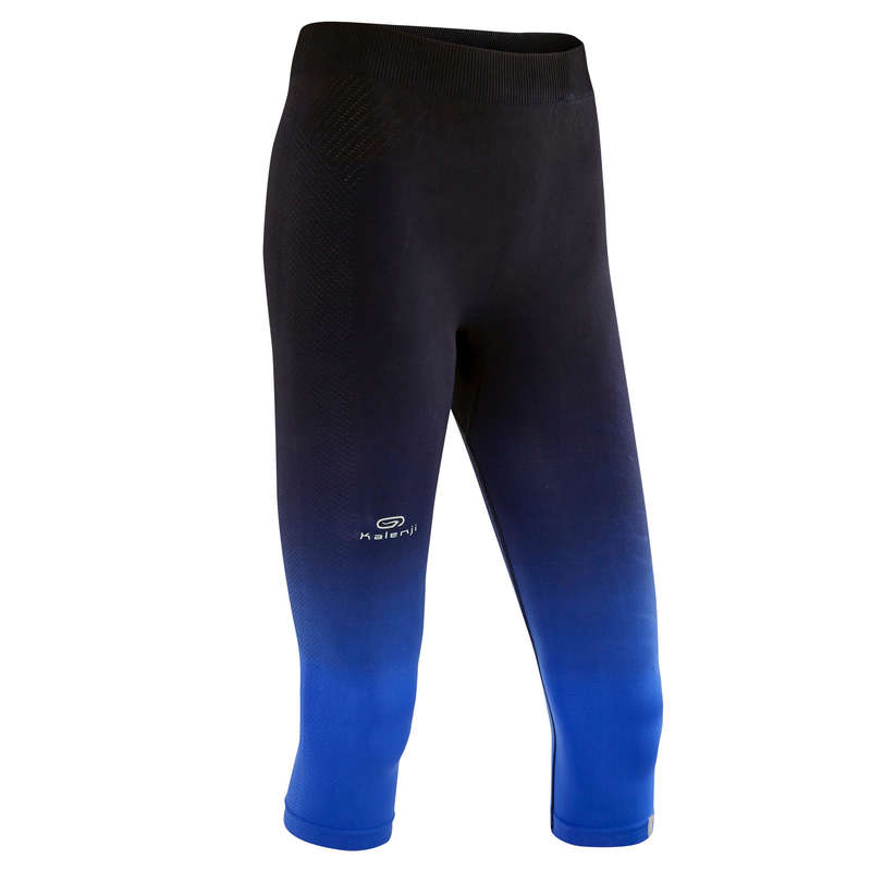 ABBIGLIAMENTO RUNNING LEGGERO DONNA Running, Trail, Atletica - Corsari donna KIPRUN CARE neri KIPRUN - Abbigliamento Running