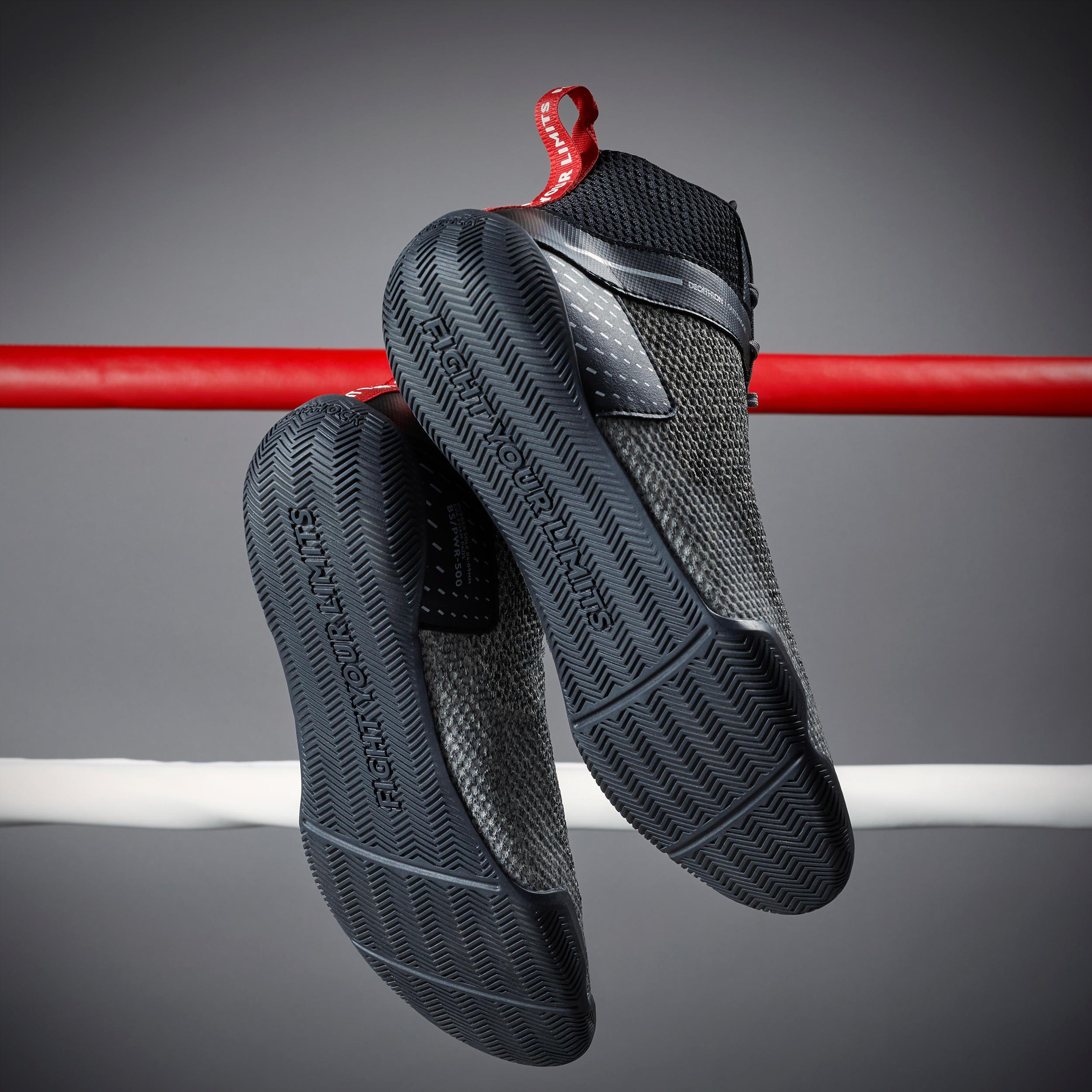 Lightweight Flexible Boxing Shoes 500