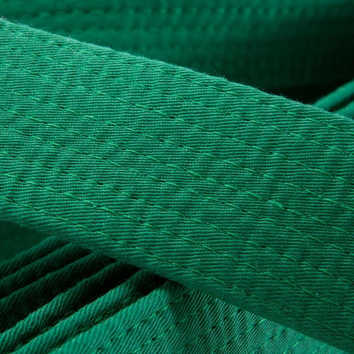 Judoband / Karateband piqué 3,10 m, groen