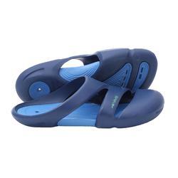 男款舒適泳池拖鞋NATASAB藍色綠色