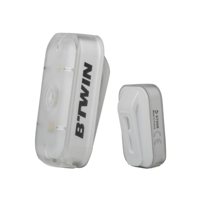ECLAIRAGE VELO LED VIOO CLIP 500 AVANT/ARRIERE USB - 164613