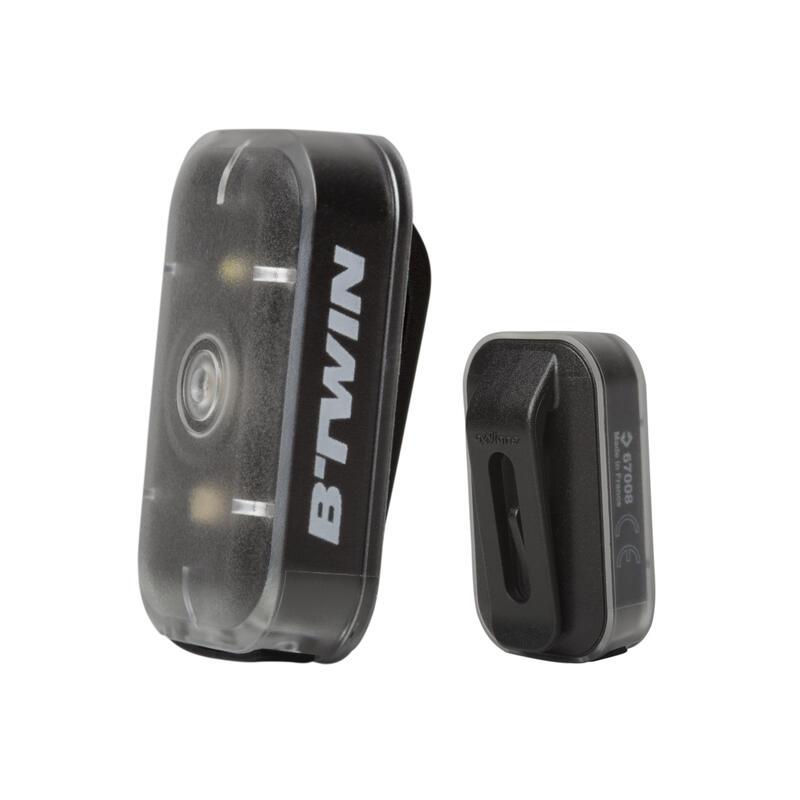 CL 500 Front or Rear LED USB Bike Light - Black