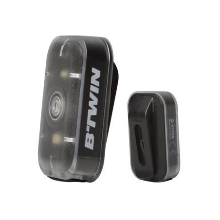CL 500 LED USB Front/Rear Bike Light Set - Black