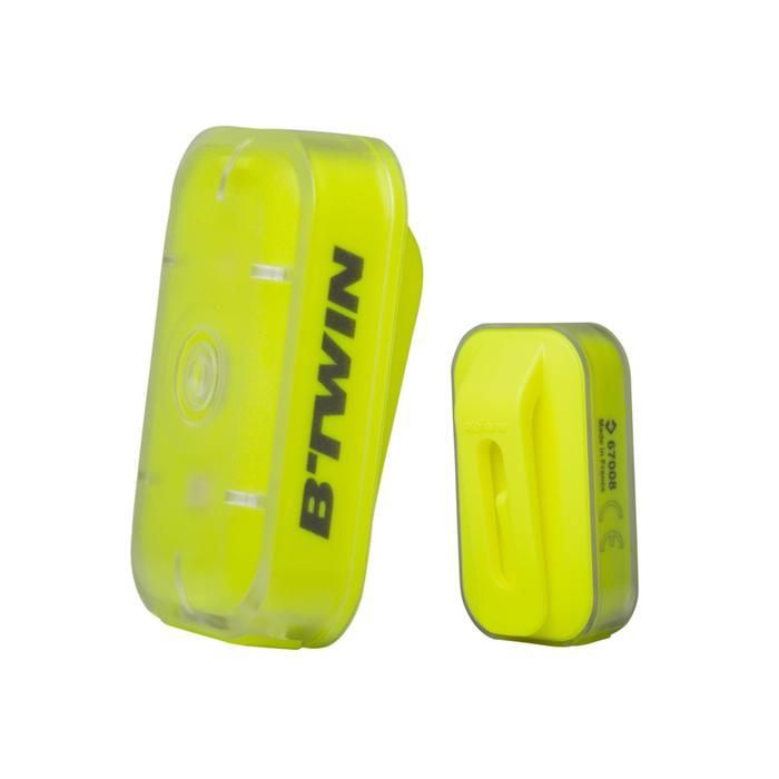 ECLAIRAGE VELO LED VIOO CLIP 500 AVANT/ARRIERE USB - 164616