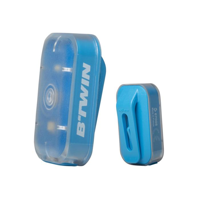 ECLAIRAGE VELO LED VIOO CLIP 500 AVANT/ARRIERE USB - 164619