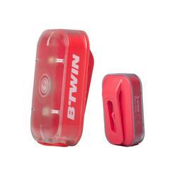 Verlichtingsset voor-/achterlicht Vioo Clip 500 USB