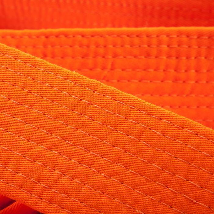 Judoband / Karateband piqué 3,10 m, oranje