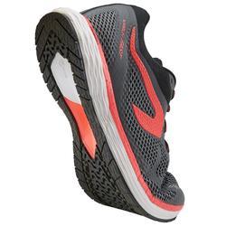 KIPRUN FAST WOMEN'S RUNNING SHOES - GREY/PINK