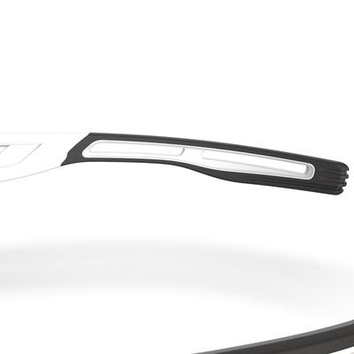 TRSG 900 ADULT CATEGORY 3 RUNNING GLASSES - BLACK/WHITE