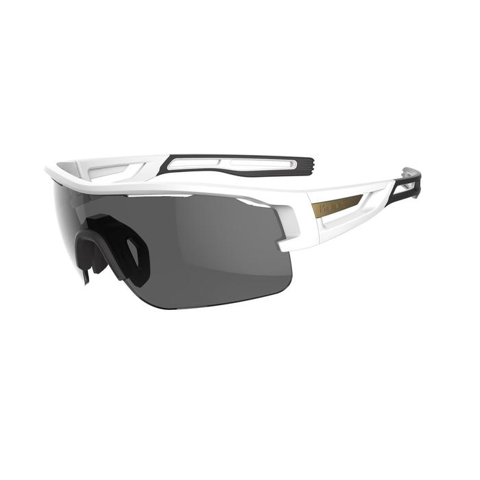 TRAIL 900 CATEGORY 3 ASIA ADULT RUNNING GLASSES - WHITE/BRONZE