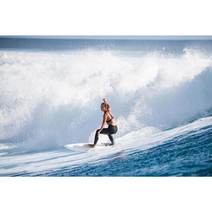 Leggings Neopren UV-Schutz Surfen 900 Damen schwarz