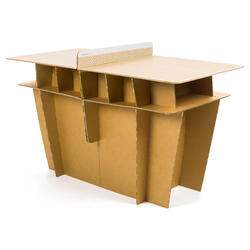 TABLE DE TENNIS DE TABLE FREE PPT 100 SMALL INDOOR
