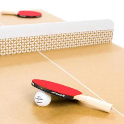 Mini Tafeltennistafel / Pingpongtafel Indoor PPT 100 Small - Paper pong